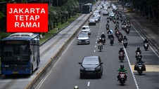VIDEO: Video Drone Jakarta Masih Ramai