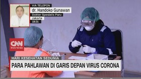 VIDEO: Para Pahlawan di Garis Depan Virus Corona