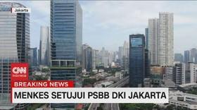 VIDEO: Menkes Setujui PSBB DKI Jakarta