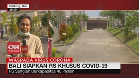 VIDEO: Bali Siapkan RS Khusus Covid-19