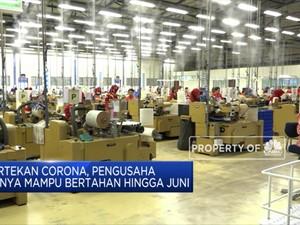 Akibat Corona, Pengusaha Hanya Mampu Bertahan Sampai Juni