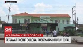 VIDEO: Perawat Positif Corona, Puskesmas Ditutup Total