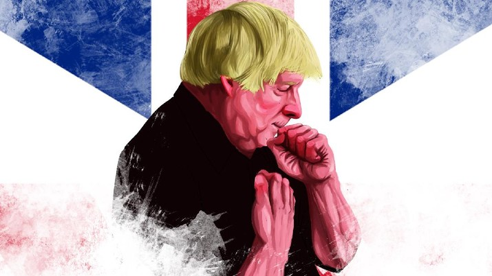 Infografis, Kondisi PM Inggris Memburuk Karena Covid-19