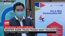 VIDEO: Erick Thohir Tinjau Rumah Sakit Rujukan