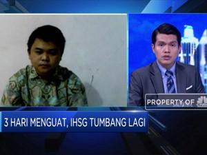 3 Hari Menguat, IHSG Akhirnya Tumbang dan Terkoreksi 0,69%