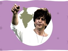 7 Aksi Legenda Bollywood Shah Rukh Khan Perangi Corona