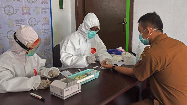 2 Anggota Meninggal, Jemaah Sajadah Fajar Jalani Rapid Test