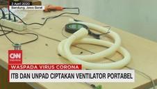 VIDEO: ITB dan Unpad Ciptakan Ventilator Portabel