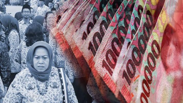 cover topik/THR PNS Terancam Tak Dibayar dalam/Aristya Rahadian krisabella