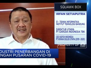 Bos GIAA: Efek Corona, Penumpang Garuda Turun Hingga 60%