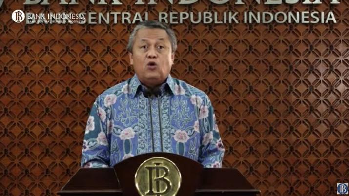 Bank Indonesia (BI) mengumumkan cadangan devisa nasional pada akhir Maret sebesar US$ 121 miliar