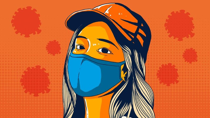 Infografis/Perangi Covid-19,  Ini dia 3 Masker yang Direkomendasikan/Aristya Rahadian Krisabella