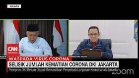 VIDEO: Selisik Jumlah Kematian Corona di DKI Jakarta