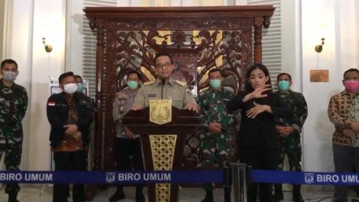 DKI Jakarta bakal menerapkan PSBB atau Pembatasan Sosial Berskala Besar.
