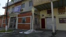 FOTO: Jasad Korban Corona di Ekuador Terlantar di Jalan
