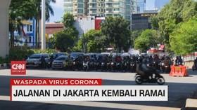 VIDEO: Jalanan di Jakarta Kembali Ramai