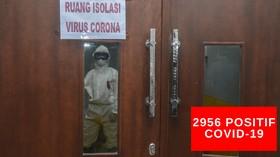 VIDEO: 2.956 Orang di Indonesia Terjangkit Covid-19