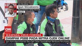 VIDEO: Dampak PSBB Pada Mitra Ojek Online