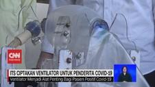 VIDEO: ITS Ciptakan Ventilator Untuk Penderita Covid-19