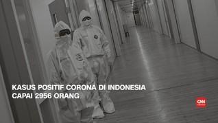 VIDEO: 8 April, Kasus Positif Corona di Indonesia Capai 2.956