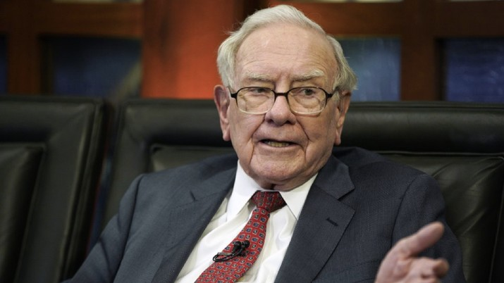 Warren Buffett. (AP Photo/Nati Harnik, File)