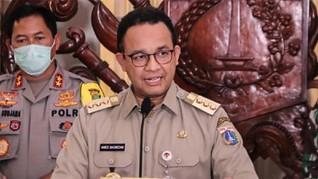 Anies Klaim PSBB DKI Jakarta Hari Pertama Berjalan Lancar