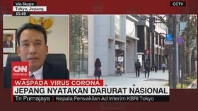 VIDEO: Jepang Nyatakan Darurat Nasional