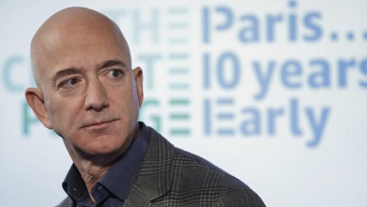 Jeff Bezos. (AP Photo/Pablo Martinez Monsivais, File)