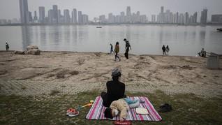 FOTO: Geliat Kota Wuhan Usai Lockdown Dicabut