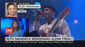 VIDEO: Ruth Sahayana Mengenang Glenn Fredly