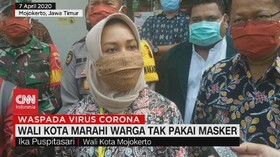 VIDEO: Wali Kota Marahi Warga yang Tak Pakai Masker
