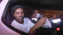 VIDEO: Keluar Penjara, Ronaldinho Jadi Tahanan Rumah