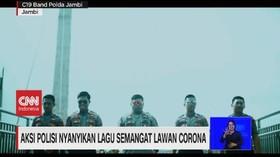 VIDEO: Polisi Nyanyi & Seniman Tari Lawan Corona
