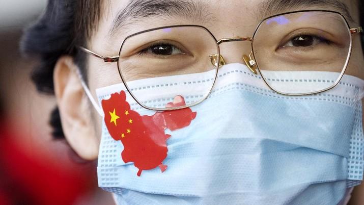 Kondisi terkini kota Wuhan usai Lockdown dicabut. (AP/Ng Han Guan)