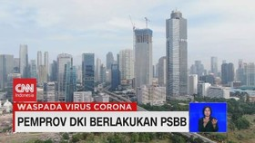 VIDEO: Pemprov DKI Berlakukan PSBB Mulai 10 April 2020