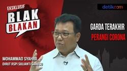 Blak-blakan Dirut RSPI Sulianti Saroso dr Mohammad Syahril