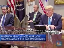 Dampak Corona,Pemerintah AS Minta USD 250 M Untuk Usaha Kecil