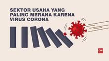VIDEO: Sektor Usaha yang Paling Merana Karena Virus Corona