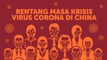 INFOGRAFIS: Rentang Masa Krisis Virus Corona di China
