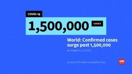 VIDEO: Kasus Infeksi Virus Corona di Dunia Capai 1,5 Juta