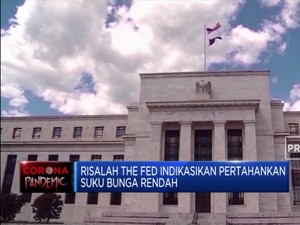 Lawan Corona, The Fed Andalkan Suku Bunga