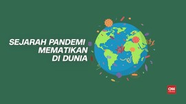 VIDEO: Sejarah Pandemi Mematikan di Dunia