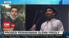 VIDEO: Prosesi Pemakaman Glenn Fredly