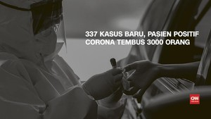VIDEO: 9 April, Kasus Positif Corona Tembus 3.000 Pasien