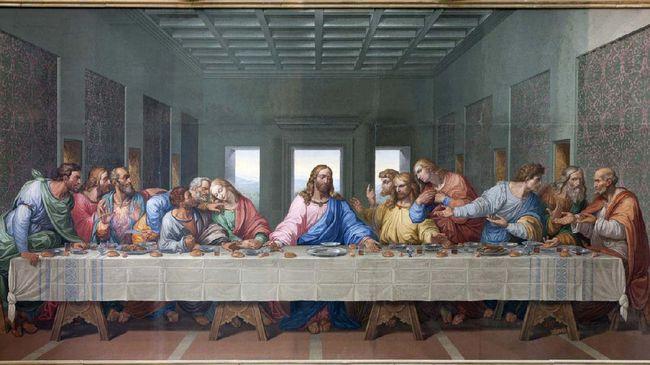 Kamis Putih,Perjamuan Terakhir dan Perayaan Keteladanan Yesus