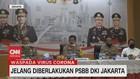 VIDEO: Jelang PSBB Jakarta, Polisi Ambil Langkah Pencegahan