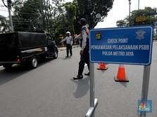 PSBB DKI, Polda Catat Ribuan Pelanggaran tidak Pakai Masker!