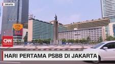 VIDEO: Suasana Hari Pertama PSBB di Jakarta