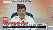 VIDEO: Jumlah Pasien Positif Covid-19 di Bali Melonjak