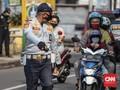 Motor Pribadi Boleh Bawa Penumpang Selama PSBB Jakarta